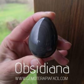 huevo obsidiana arcoiris gemoterapia facil