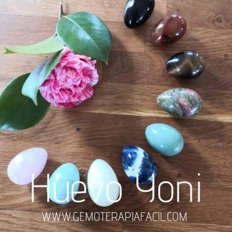 huevo vaginal Yoni minerales gemoterapia facil