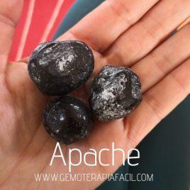 obsidiana lágrima Apache bruto gemoterapia facil