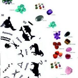 Ruleta piedras para el Zodiaco