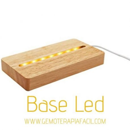 base LED iluminación para minerales general