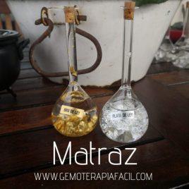 matraz de oro y plata de ley gemoterapia facil