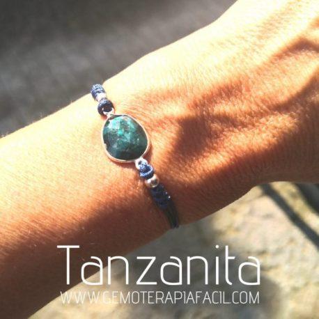 pulsera tanzanita gemoterapia facil