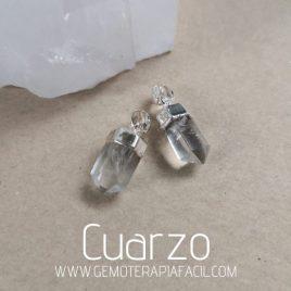 colgante cuarzo cristal gemoterapia facil