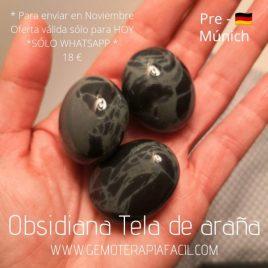 Obsidiana Tela de Araña – PRE-MUNICH 2021