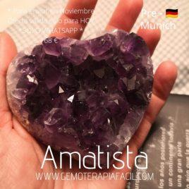 Corazón Amatista AAA- PRE-MUNICH 2021